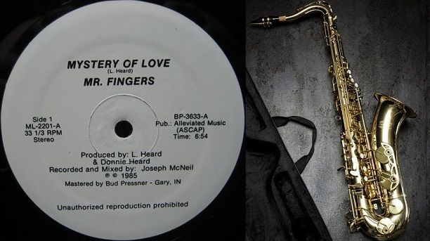 The first deep house track ever made with a saxophone | Mystory of love by Mr. Fingers